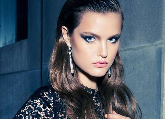 Demure Smoky-Eyed Editorials