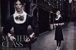 The Arizona Muse Freja Beha Erichsen Vogue UK Shoot Plays on Romance Rumors