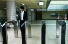 Gateless Hi-Tech Turnstiles