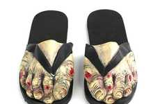 These Zombie Sandals Will Kill You With Their Quirky Comedy