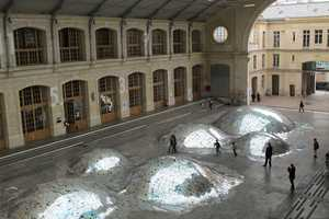 'Waste Landscape' by Morin and Eliard Makes Use of Unsold CDs