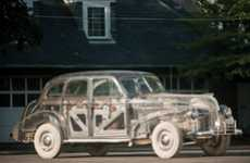 Vintage Transparent Cars