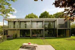 The Sluijmer & Van Leeuwen Villa Horatiuslaan House is Roomy and Rectangular
