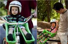 Shotgun Baby Pods - The iBert Safe-T Seat Lets Children Bike Upfront