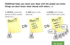 Project Planning Apps - The ToDOFeed Application Allows you to Delegate Tasks Among Friends