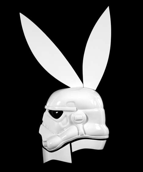 Imperial Soldier Makeovers - Stormtrooper Playboy Bunny Spices up the Iconic Star Wars Characters