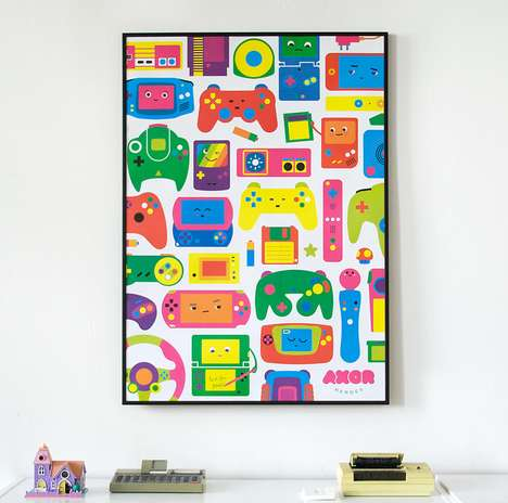 Love for Games Poster