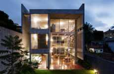 Illuminated Concrete Abodes