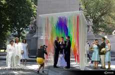 Makshift Wedding Sites - The Pop Up Chapel Competition Hosted 24 Free Same-Sex Weddings