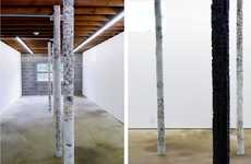 Couture Pole Art - Helmut Lang's Make It Hard Installation Destroys His First Love