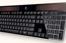 K750 Wireless Solar Powered Keyboard is a Stylish Way to Save Energy
