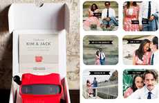 The Viewmaster Invitation is a Nostalgic Way to Invite Guests