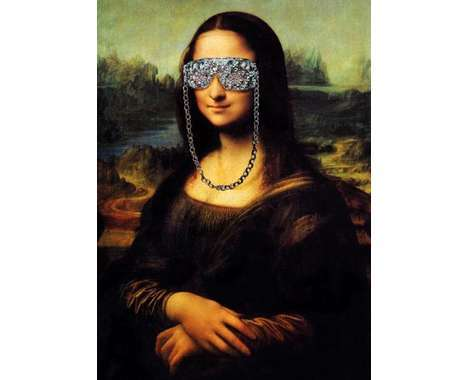 modern Mona Lisa remixes
