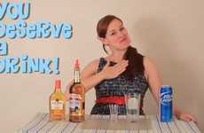 The 'You Deserve a Drink' YouTube Channel is Fueled with Pop Culture Puns