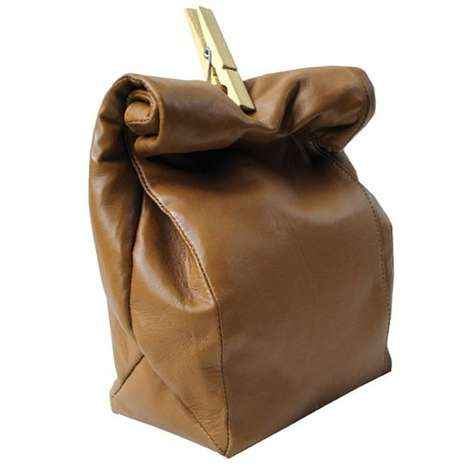 Leather Mini Paperbag