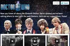 Facebook Movie Rentals - Doctor Who Brings Classic Episodes to Social Media