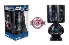 The Darth Vader Lamp and Alarm Clock Combo is Full of Light
