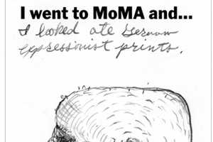 The 'I went to MoMA and' Project Encourages Visitors to Express Emotions