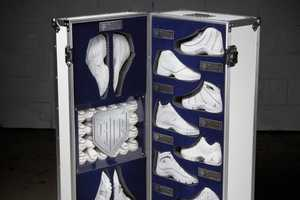 Derek Jeter 10 Signature Shoe Trunk Auctions for a Good Cause