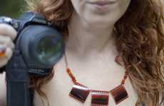 Paparazzo Choker Crafts - The Film Negative Necklace Will Ensure You are Always Camera-Ready