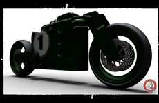 Boxy Vintage Motorbikes - The Lea-Francis Cafe Racer Pays Homage to Motorcycles of the Early 1900s