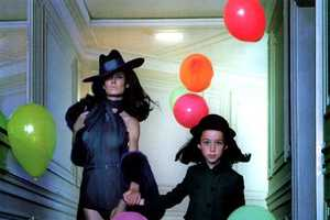 A Childish Diva and a Responsible Kid in Vogue Italia August 2011