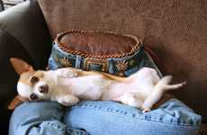 Canine Denim Beds - Lap of Luxury Pet Beds Recreate the Human Touch for Dogs