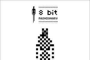 8 Bit Fashionary Showcases Retro Graphics of Fashion Labels