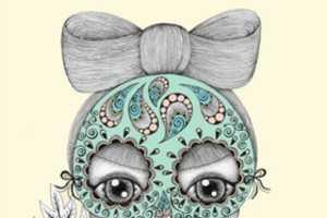 Danielle Reck Draws Whimsically Magical Women
