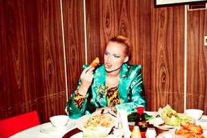 The Kung Pao Photoshoot Showcases High Fashion With Food