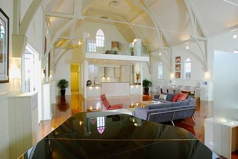 Revamped Religious Interiors - The Bonney Avenue Residence is a Drastic Reno of an 1867 Church