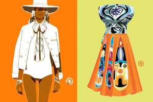 Francois Berthoud's Illustrations are an Intense Look at High-Fashion