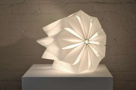 Windwheel-Like Lighting - Alexandra Snook Creates Sculpturally Minimalist Furniture