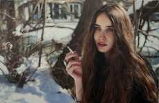 Stunning Smoker Portraits