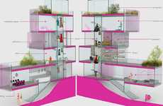 Luxe Modern Dollhouses - The Architect Barbie Dreamhouse is a Career Woman's Haven