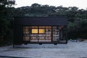 The 'Book' House by Nendo is a Geek's Dream on a Serene Coast