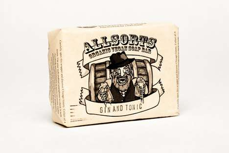 Allsorts Liquor Soap Bars
