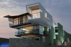 The 'Lefevre' Beach House is a Division Between Sand and Water