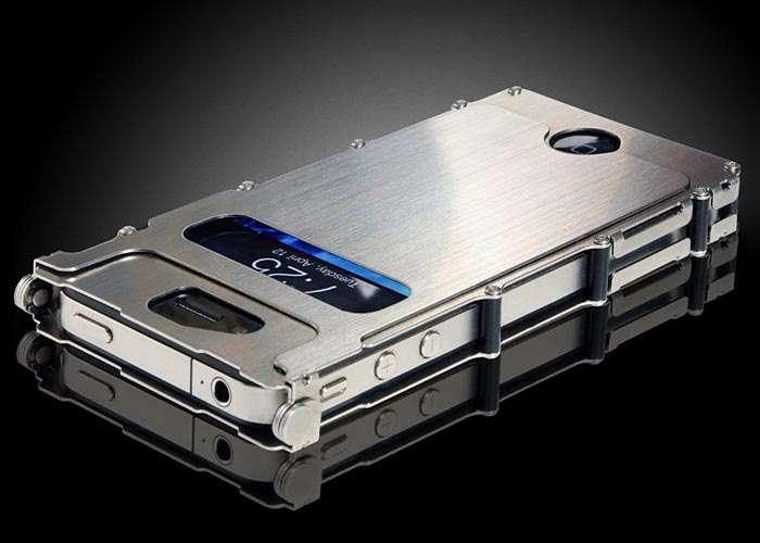 Металлический чехол для смартфона