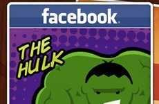 Social Media Superheroes - The 'If Social Sites Were Superheroes' Infographic is on Point