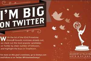 'I'm Big on Twitter' Infographic Predicts Emmy Award Winners