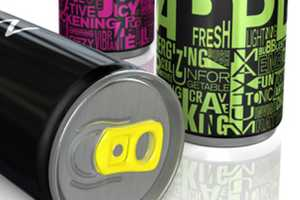 The Zoda Energy Drink Boasts an Electrifying Package Design