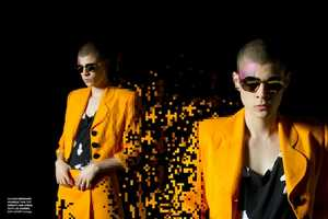 The Jeiroh Yanga Pop Pop Pixels Editorial Marries Fashion and Gaming