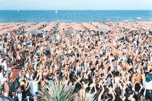 Massimo Vitali's Beach Shoot Exposes Seasides Packed With People