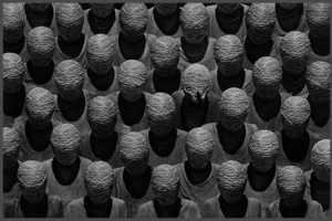 Misha Gordin Marries Art and Politics with Faceless Crowd Captures