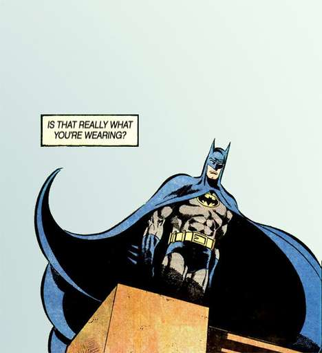 Disappointed Dad Batman Meme