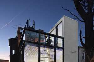 Barcode House Applies Horizontal & Vertical Lines for a Modern Effect