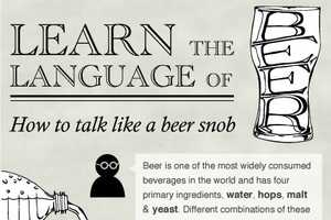 The 'How to Talk Like a Beer Snob' Infographic is Enlightening