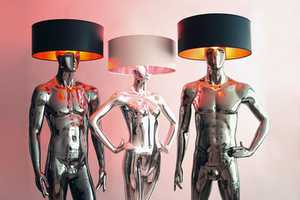 Lightbodies by Kilu are Home Furniture in the Shape of Humans