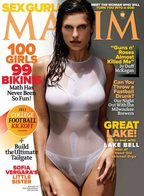 Lake Bell Maxim September 2011